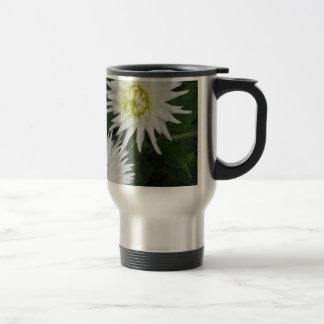 White Dahlia - photograph Travel Mug