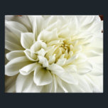 "White Dahlia Sepia Dahlia Closeup Flower Template Photo Print<br><div class=""desc"">Use our cool template, artwork, photo, graphic, or illustration, then add a name, text, quote, or monogram to create your own custom or monogrammed landscape photo print. Click the &quot;Customize it!&quot; button to make it totally customized. These posters are great gifts for men, women, and kids (and you, too, of...</div>"