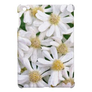 White dahlias iPad mini case