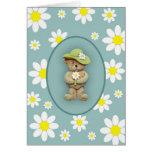 White Daisies Card