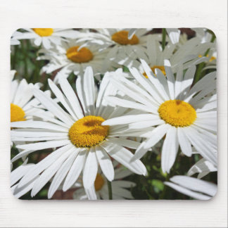 White Daisies Flowers mousepads Christmas gift Mom