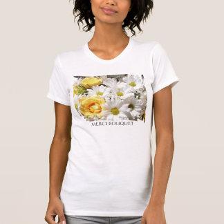 White daisies Yellow Roses T-shirt
