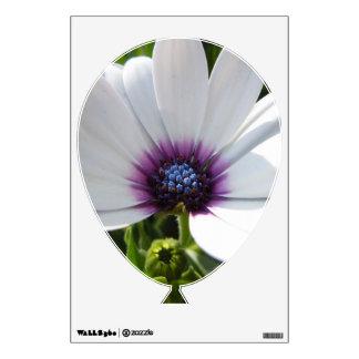 White Daisy - 1 Wall Sticker