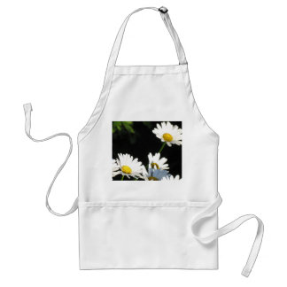 White Daisy Adult Apron