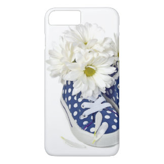 white daisy bouquet in sneakers iPhone 7 plus case