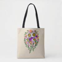 White Daisy by Delynn Addams Tote Bag