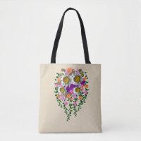 White Daisy by Delynn Addams Tote Bag