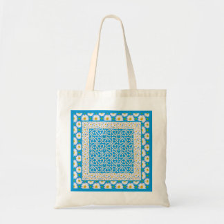 White Daisy Chains Budget Tote Bag: Mix'n'Match