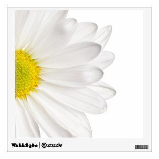 White Daisy Flower Background Customized Daisies Wall Sticker