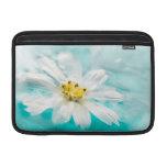 White Daisy Flower Blue Water Pond Tropical MacBook Air Sleeves