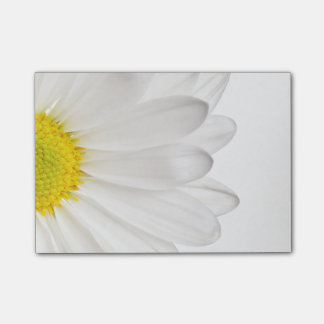 White Daisy Flower Floral Daisies Flowers Post-it® Notes