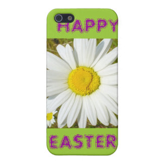 White Daisy Happy Easter Products Cover For iPhone SE/5/5s
