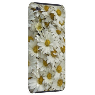 White Daisy Mum Floral Case Mate iPod Case