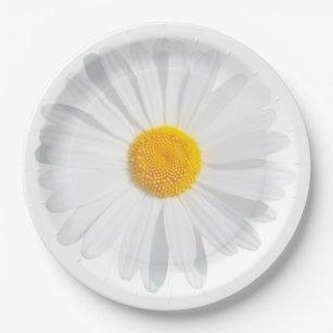 Daisy Plates | Zazzle