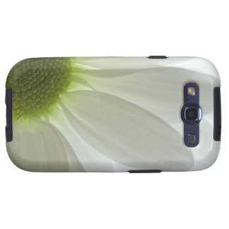 White Daisy Petals Samsung Galaxy S3 Vibe Case Galaxy S3 Cover