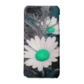 White Daisy (w Green) iPod Touch case
