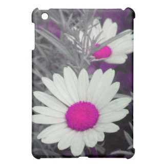White Daisy (w Pink) iPad case
