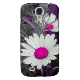 White Daisy (w/ pink) iPhone 3 case