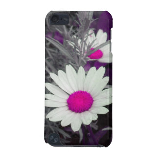 White Daisy (w Pink) iPod Touch case