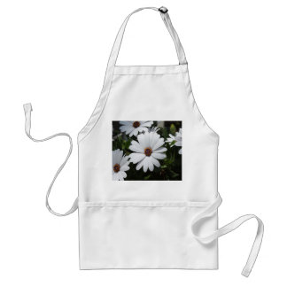 White Daisy's in Bloom Adult Apron