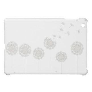 White Dandelion Seed Make A Wish  iPad Mini Cases