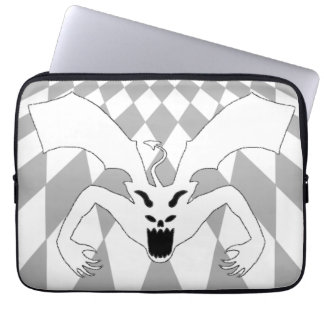 White Devil Laptop Computer Sleeves