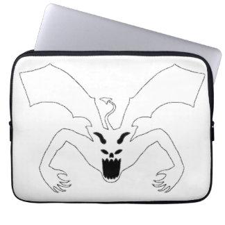 White Devil Laptop Sleeves