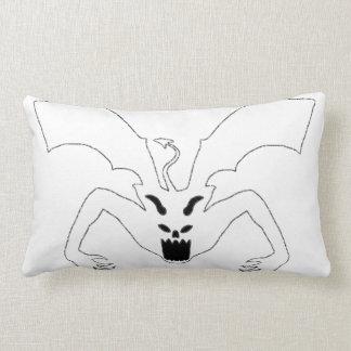 White Devil Lumbar Pillow