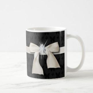 White Diamond Bow Sweet 16 Coffee Mug