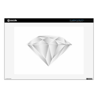 "White Diamond for my sweetheart 13"" Laptop Skin"