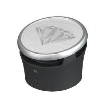 White Diamond for my sweetheart Bluetooth Speaker