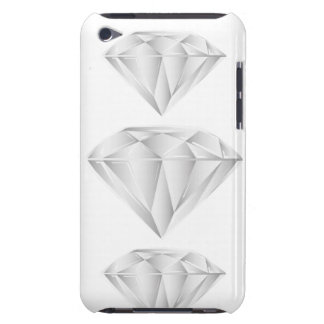 White Diamond for my sweetheart Case-Mate iPod Touch Case