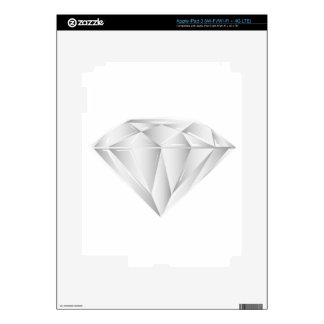 White Diamond for my sweetheart iPad 3 Skins