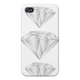 White Diamond for my sweetheart iPhone 4 Cases