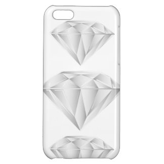 White Diamond for my sweetheart iPhone 5C Covers