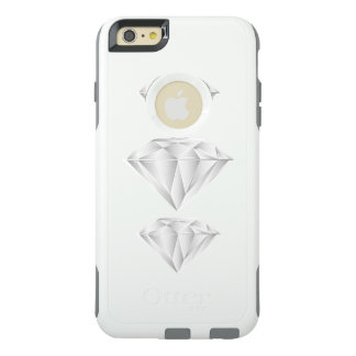 White Diamond for my sweetheart OtterBox iPhone 6/6s Plus Case
