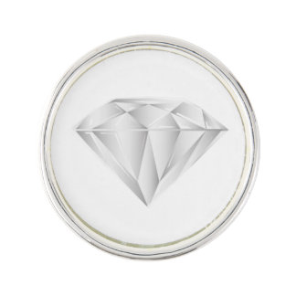White Diamond for my sweetheart Pin