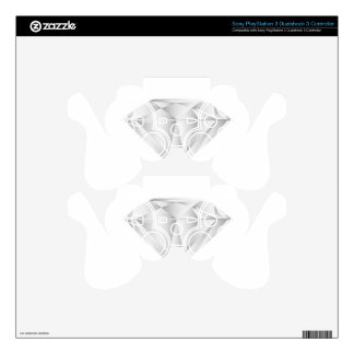 White Diamond for my sweetheart PS3 Controller Skin