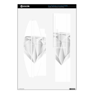 White Diamond for my sweetheart PS3 Decal