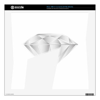 White Diamond for my sweetheart Skins For The Xbox 360 S