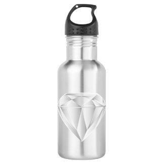 White Diamond for my sweetheart Water Bottle