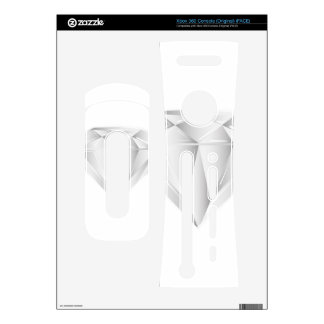 White Diamond for my sweetheart Xbox 360 Console Decal