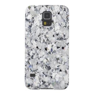 WHITE DIAMOND GALAXY S5 CASES