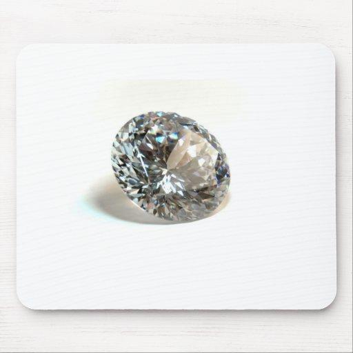 White Diamond. Mousepads