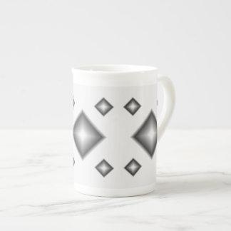 White Diamonds Bone China Mug by Janz