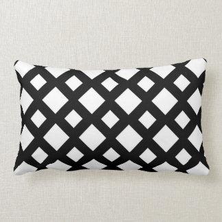 White Diamonds on Black Pillows