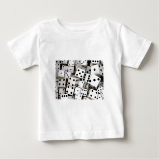 White Dice Baby T-Shirt