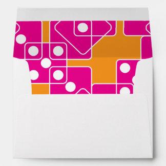 White Dice Envelope