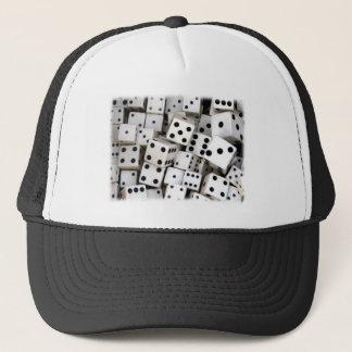White Dice Trucker Hat