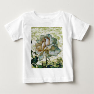 White discolored rose baby T-Shirt